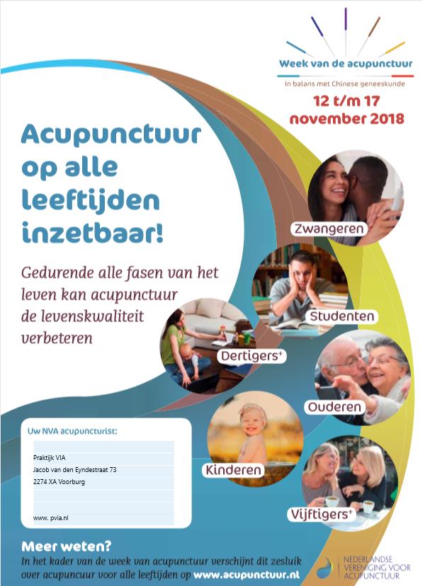 Week van de Acupunctuur 2018